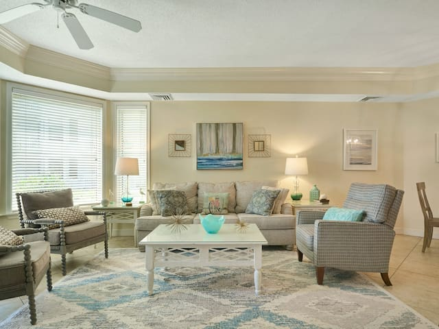 Living Room at 2102 Sea Crest