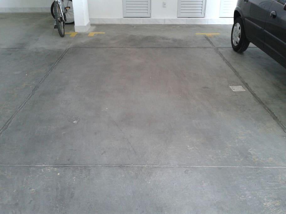 Garagem Coberta privada