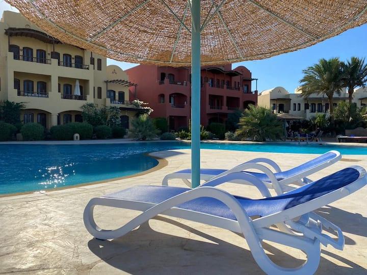 Modern 1 Bedroom Apartment, West Golf El Gouna.