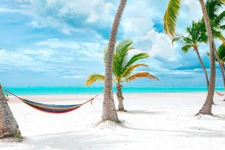 5☆ Dream Retreat in Paradise+Jacuzzi I Priv Beach☆