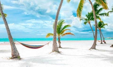 5☆ Dream Retreat Paradise+FastWiFi I Priv Beach☆
