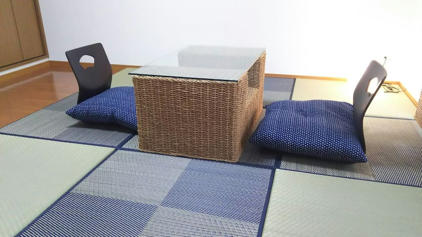SOK3, Free WIFI, Two min to station,tatami floor
