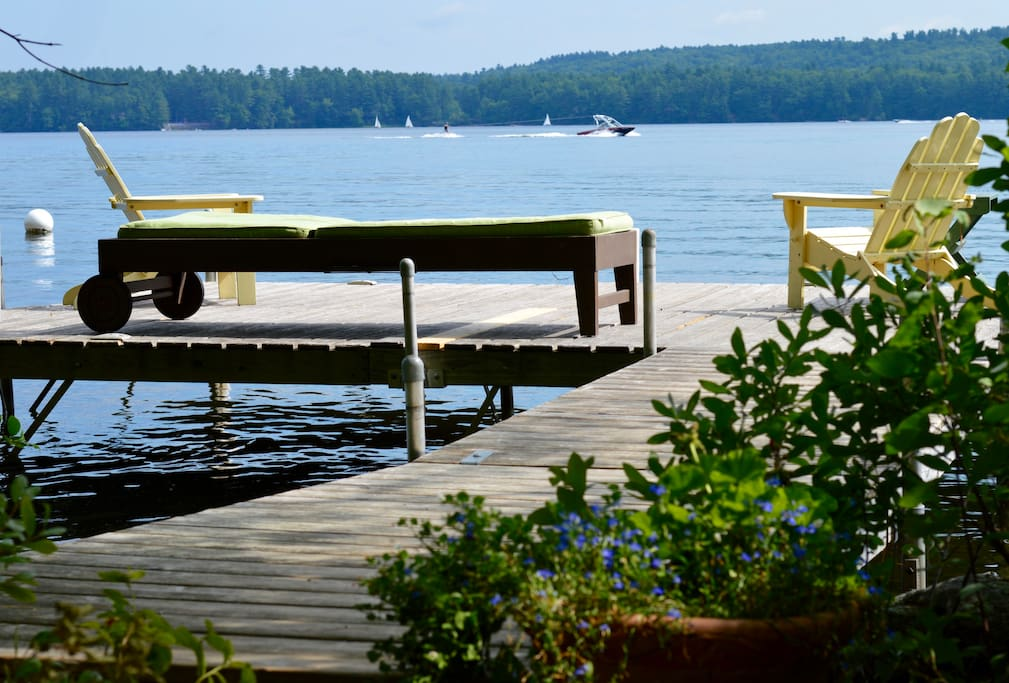 Dive in and swim, kayak, or fish from our private dock or enjoy the sunrise with a cup of coffee