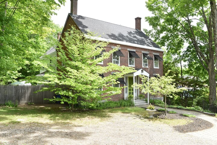 Two Level Brick House Close to Downtown Wolfeboro