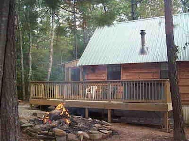 Cupid's Cove Log Cabin - Coker Creek - Houten huisje