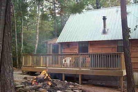 Cupid's Cove Log Cabin - Coker Creek - Blockhütte