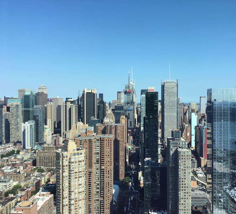 North and south views of manhattan appartamenti in for Appartamenti a manhattan new york
