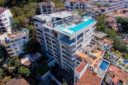 D'Terrace-Brand New Building in the Romantica Zone - Puerto Vallarta - Ortak mülk