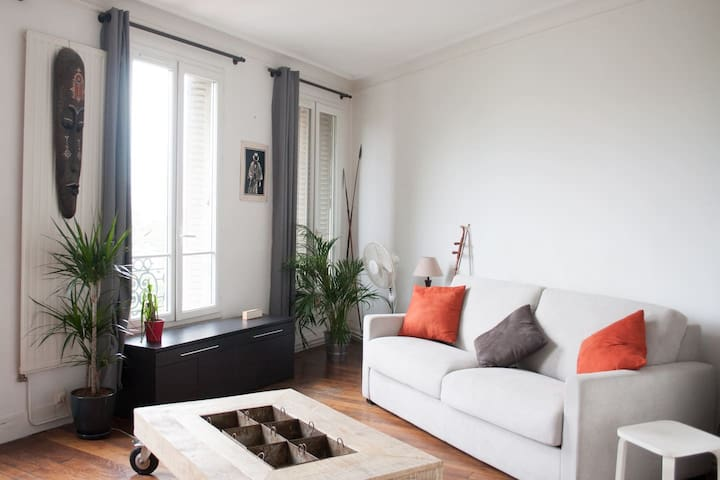 ☆ Spacious and Modern apartment @ Place d'Italie ☆