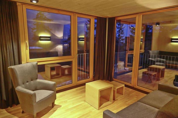 Gradonna ****s Mountain Resort nestled among the mountains of East Tyrol