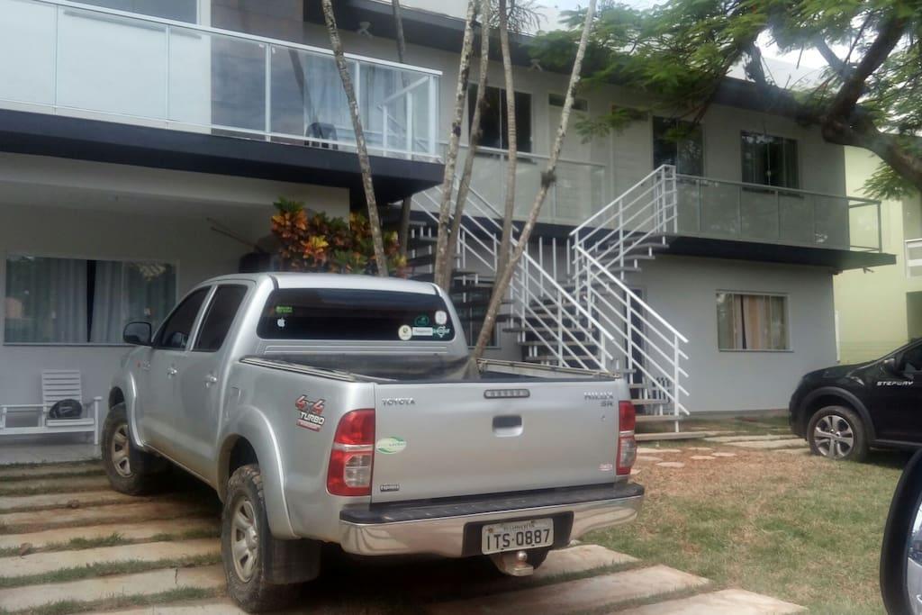 estacionamento exclusivo p cada residência