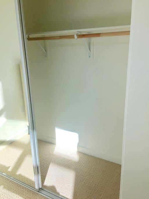 Closet for storage