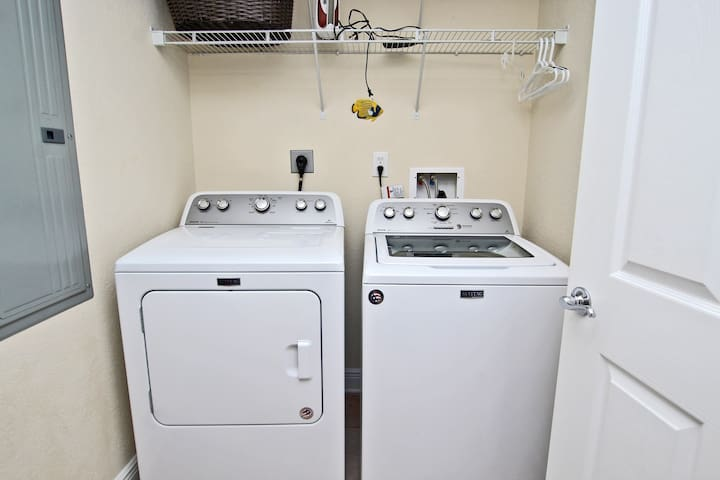 Large In Unit Laundry Space