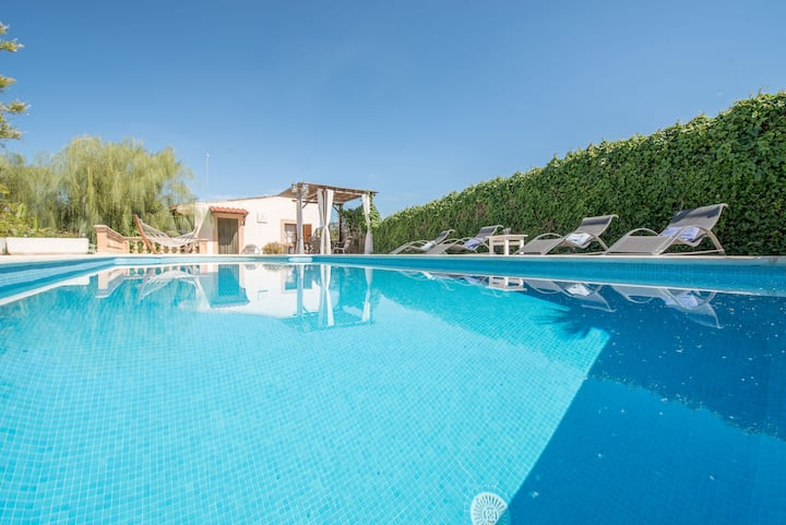 Villa with pool in a quiet location - Villa Sa Caseta the Tronca
