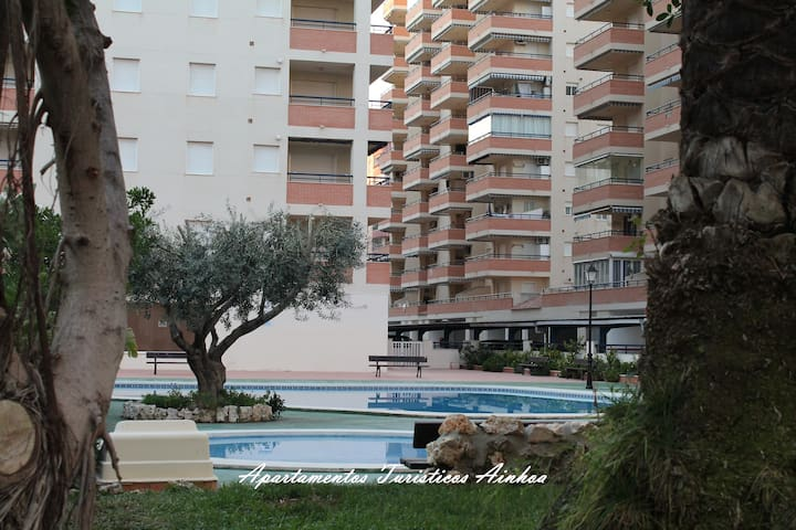 Apartment sea views WIFI swimming Pool PARKING