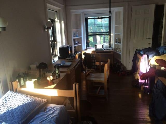 Sarah Lawrence College Dorm Room - Bronxville