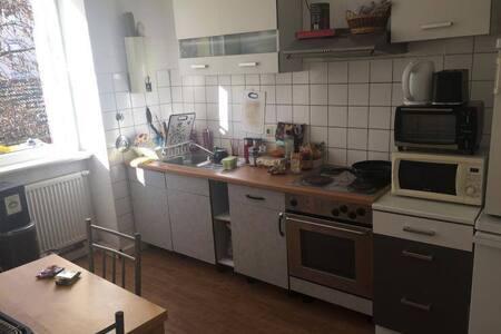 zentrale bescheidene große Wohnung in Pforzheim - Pforzheim - Huoneisto
