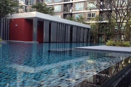 Comfortable Condo Near BTS Barering - Tambon Sam Rong Klang