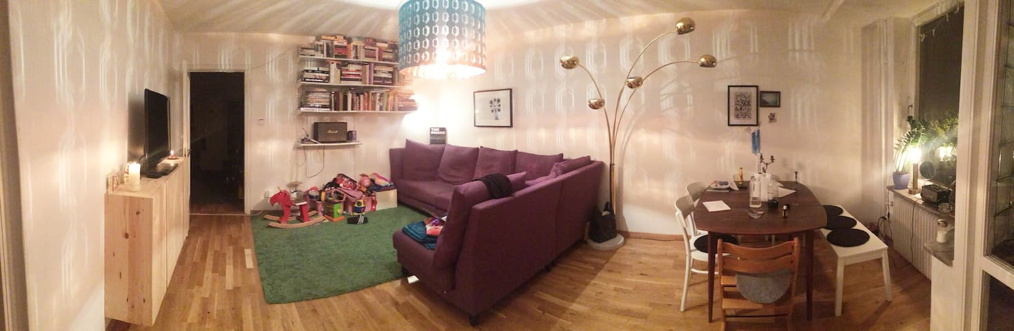 Charming 3 bedroom apartment in cosy Gröndal