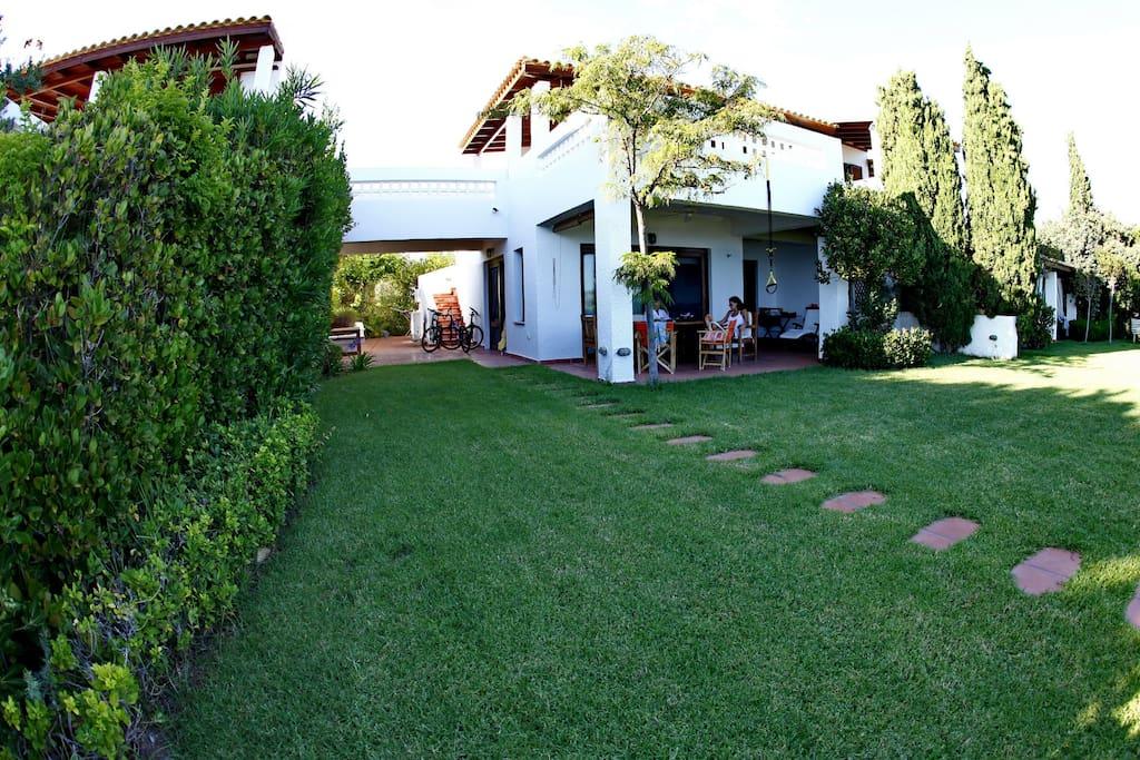 150sqm of garden