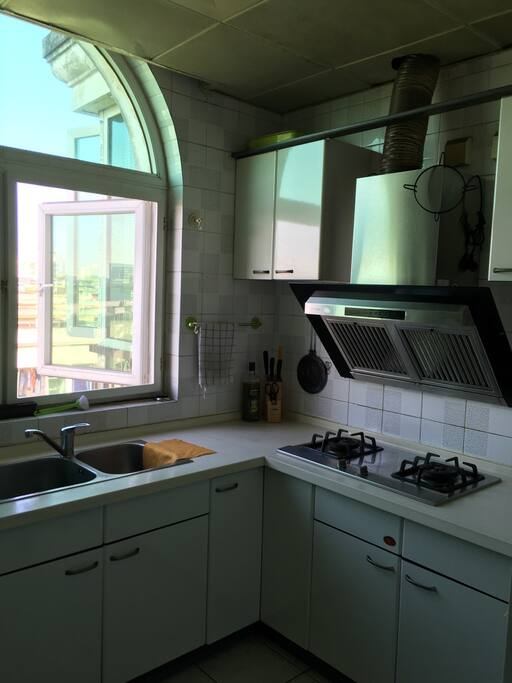 Well-facility kitchen 厨房