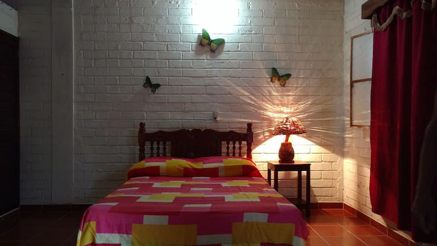 Nice Bungalow in Double Bed - San Blas