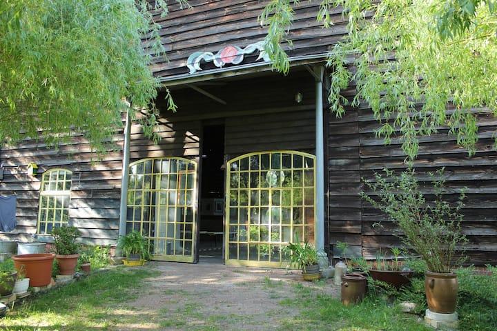 Garten Studio Magnolie im zauberhaften Havelland