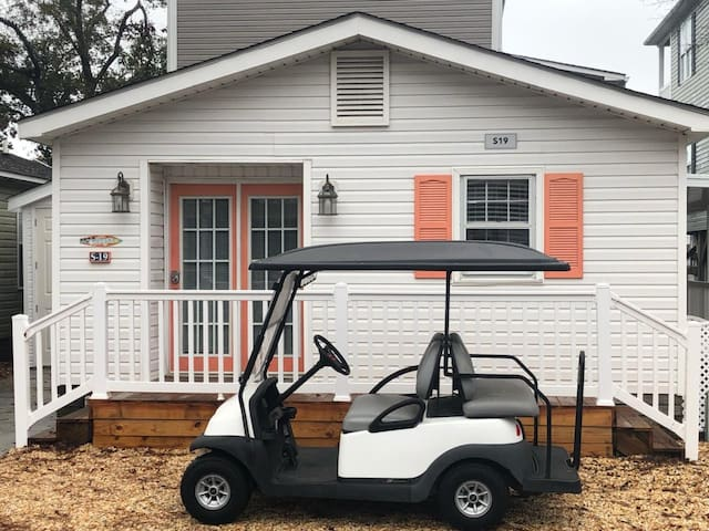 Coastal Ocean Lakes Home with Golf Cart