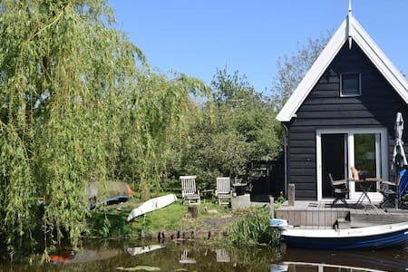 Vrijstaand vakantiehuis Aan Ammers Water