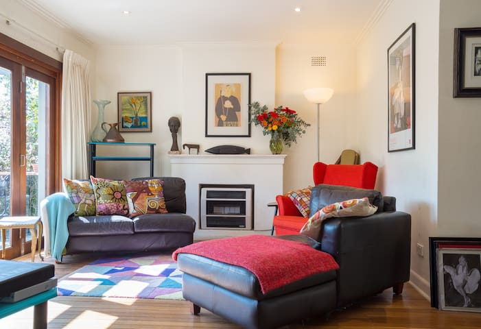 Sunny stylish private room in Hunters Hill