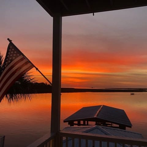 Beautiful Sunsets at the mouth of the Steinhatchee