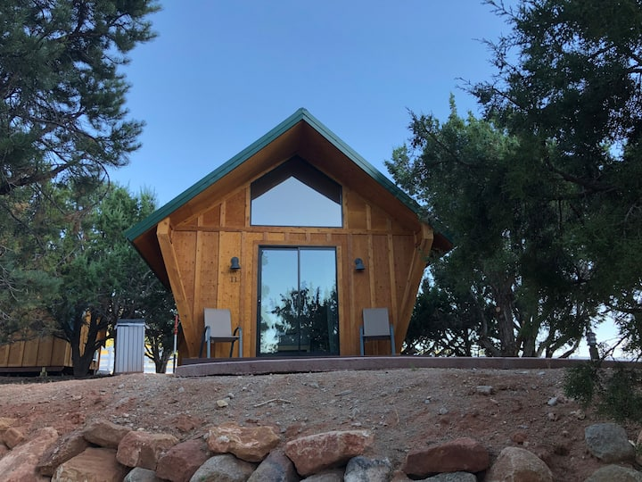 Glamping Cabin with Loft