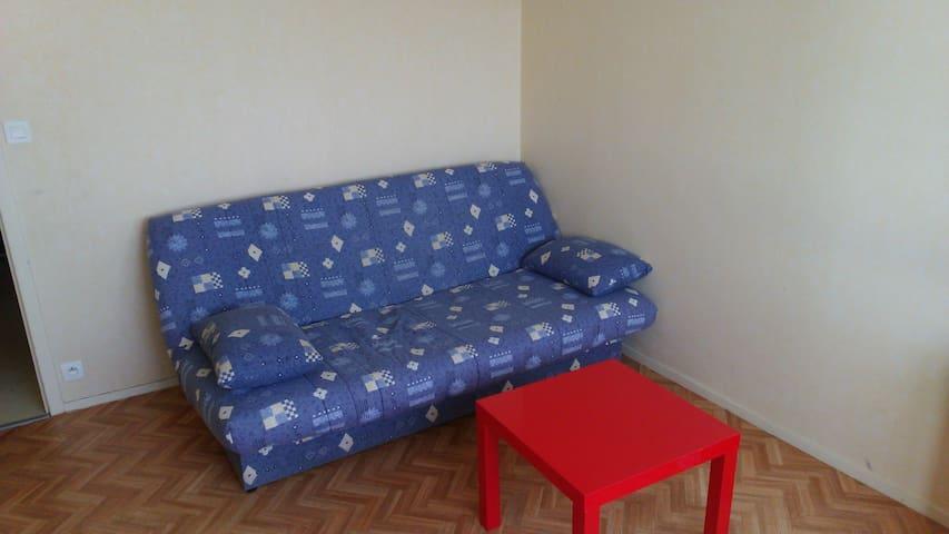 studio dans résidence sécurisée