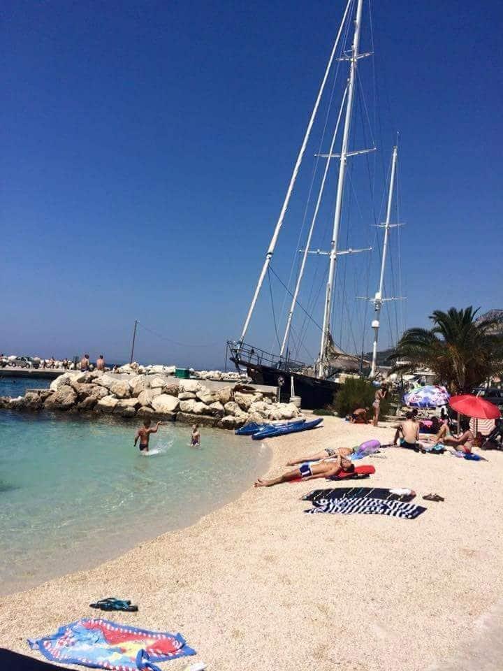 Holiday in beautiful Dalmatia near Split 9 guests
