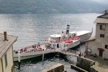 FERRIES to Bellagio, Varenna, Lenno, Cernobbio, Como, Menaggio and so...