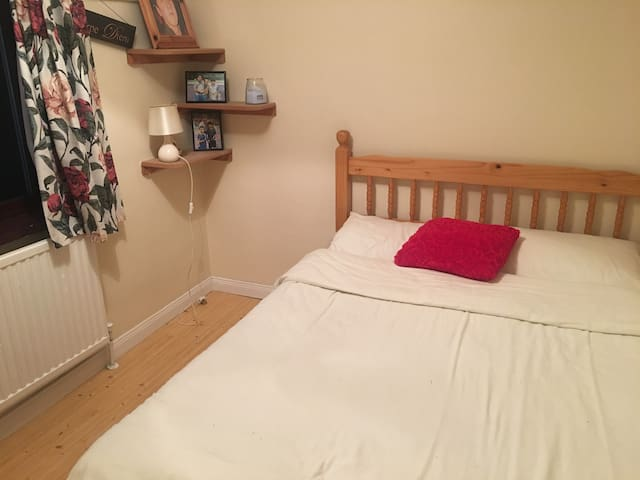 Freshly decorated, clean and cosy.