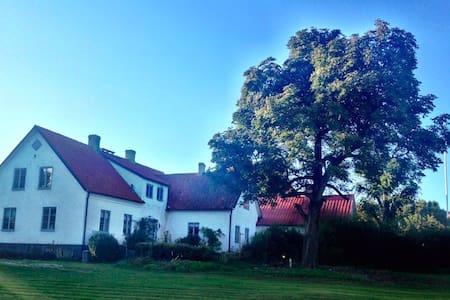 Fantastiskt Kalkstensgård på Gotland - Slite