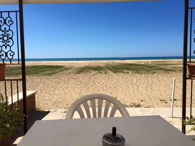 La casa sulla spiaggia  di Lu' - Porto Empedocle - Villa