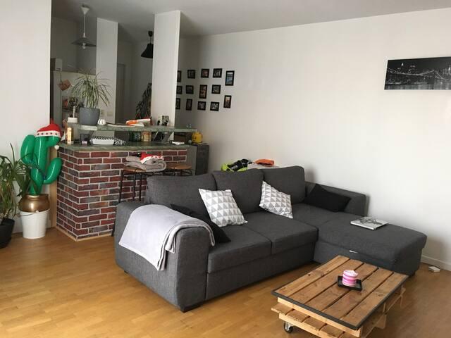 Appartement 2 piéces calme et lumineux - Maisons-Alfort - Leilighet