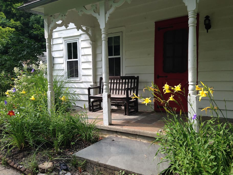 Share our 1850's house, with your own separate entrance and private yard and porch