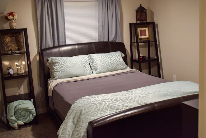Modern Lower Level Suite in Historic Atchison