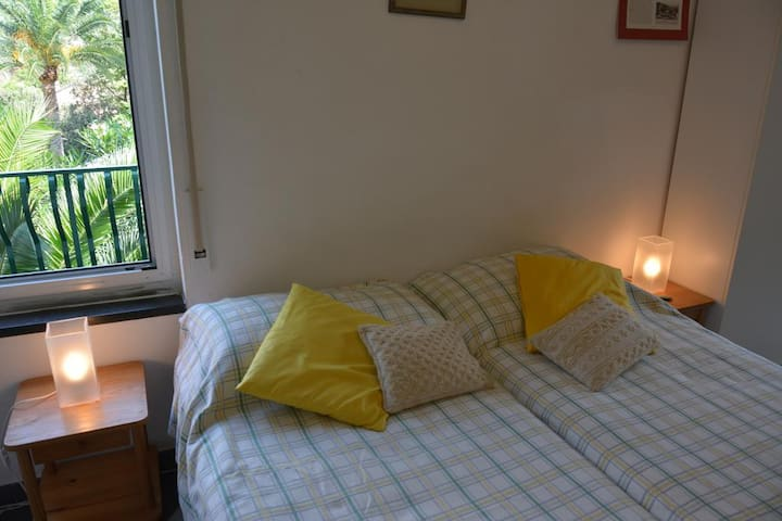 Bedroom 2  with 1 Double Bed  (2 Joint Single Beds)