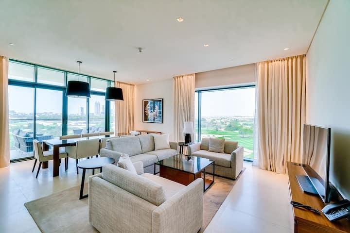 Three Bedroom apartment Golf view