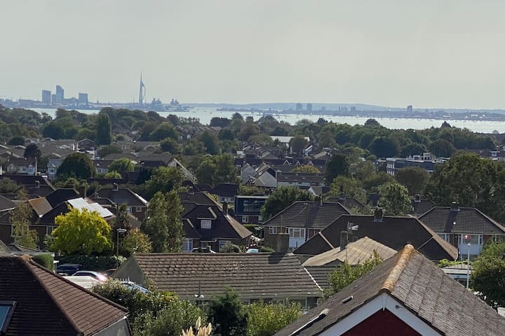 Portchester Home with a View