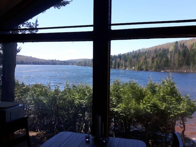 L'ÉVASION - Chalet bord du lac