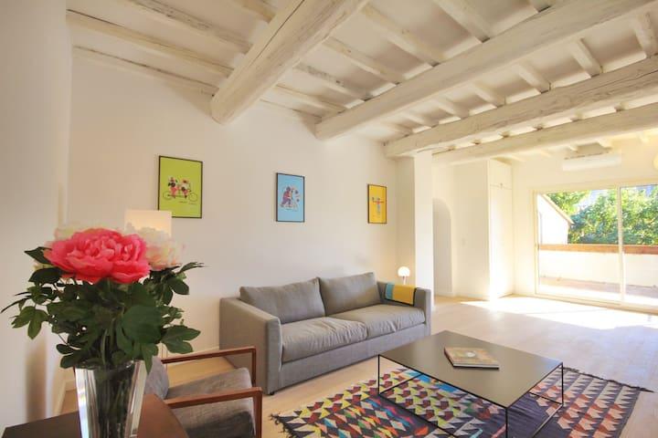 Appart Avignon 3 chambres / terrasse / clim / Wifi - Avignon - Apartment