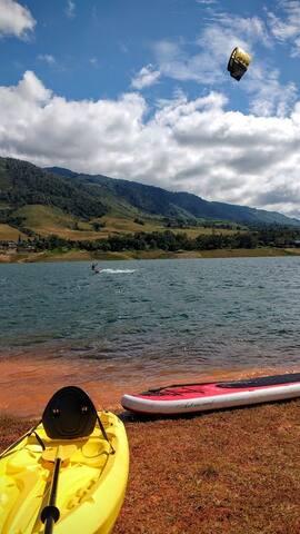 Actividades Nauticas (Kayak, Paddle) Complementarias al curso de Kitesurf.