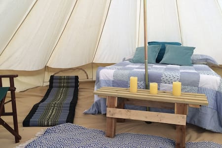 Yurt + 4 Furnished Bell Tents by South Downs - Lewes - Yurt