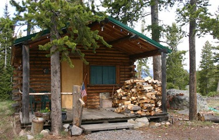 Secluded cabin experience B&B - Gardiner - Cabin