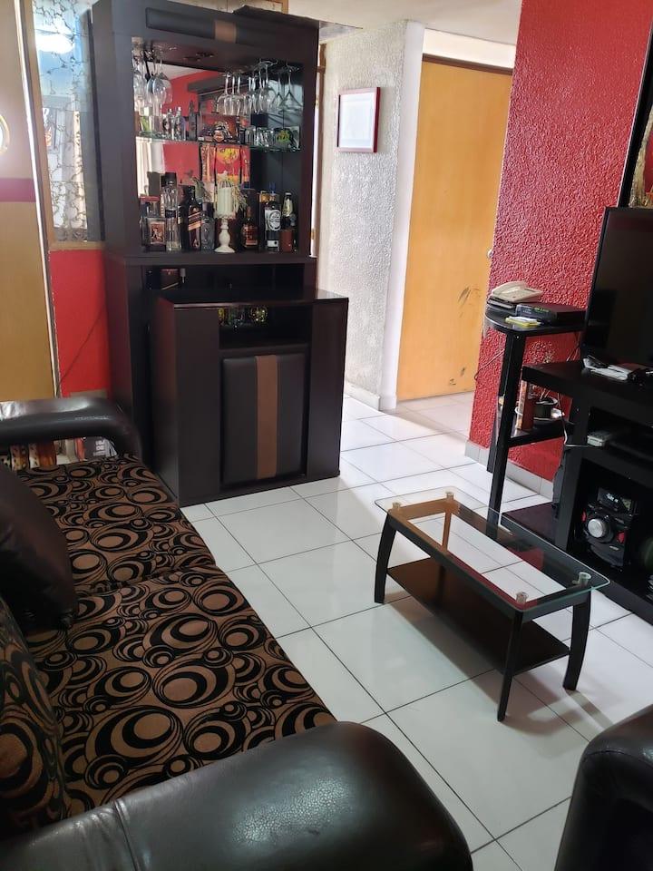 Departamento completo, nice apartment